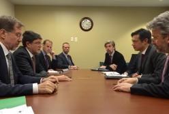 Sastanak State Department s Hoyt Brianom_Picula, Peterle, veleposlanik Paro, Antoine Ripoll (EPLO)
