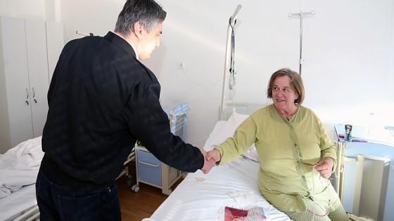 Premijer Milanovc posjetio Kliniku za tumore KBC Sestre milosrdnice