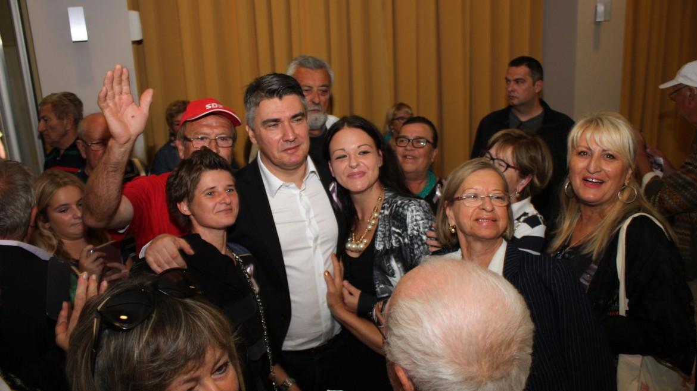 Milanović u Dubrovniku: Mi smo ti koji u Hrvatsku donose promjene!