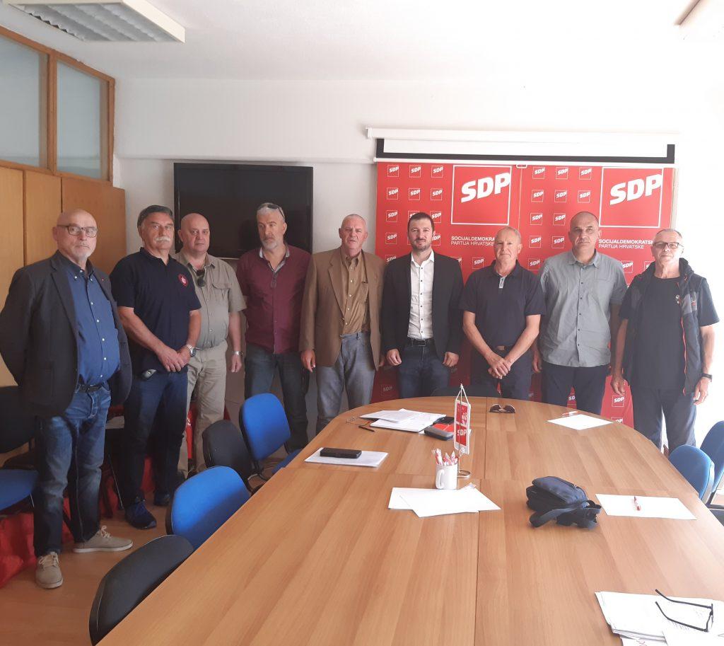 Osnovan SDP-ov Savjet za ratne veterane Dubrovačko-neretvanske županije